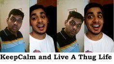 Keep Calm and Live A Thug Life | Bhak Be Saale Vines Funny Picture Jokes, Funny Pictures, Thug Life, Keep Calm, Vines, Music, Youtube, Women, Fanny Pics
