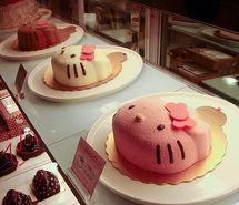 Don't eat #cute #hellokitty #cakes #love