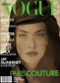 Tatjana Patitz by Herb Ritts Vogue UK October 1988
