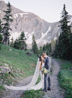 romantic wedding in telluride colorado, alta lakes, colorado wedding