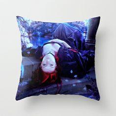 Despair Throw Pillow by Alexandra V Bach - $20.00
