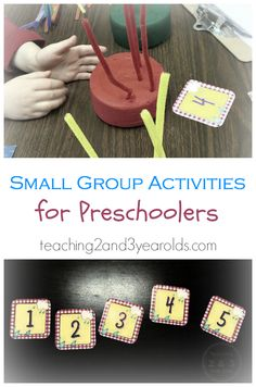small group activities for preschoolers long
