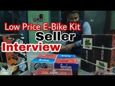 Low Price E-Bike Kit Seller Interview    low cost E-Bike kit terms and condition for buying    COD - YouTube E Bike Kit, Cod, Interview, Conditioner, Youtube, Cod Fish, Atlantic Cod, Youtubers, Youtube Movies