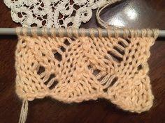 (60) Punto ad intrecci traforati ai ferri - YouTube Knitting Stitches, Ale, Knit Crochet, Hobby, Youtube, Women, Patterns, Fashion, Iron