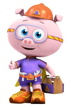who are the most popular super why characters pigalpha pig
