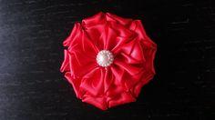 Instructie satijnen bloem/ instruction satin flower/ Kanzashi