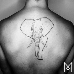 Geometric Elephant Tattoo, Elephant Tattoo Design, Elephant Tattoos, Mini Tattoos, Flower Tattoos, Body Art Tattoos, Simplistic Tattoos, Subtle Tattoos, Small Finger Tattoos