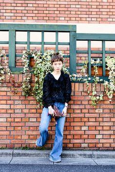 ストリートスナップ原宿 - 柴田紗希 さん - CONVERSE, Dior, Flemington, used, コンバース, ディオール, フレミントン, 古着