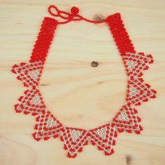 Collier perles Estrellita Rouge fait main