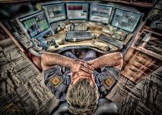 The Last Voice ~ Many times Dispatchers hear a caller end their life while on the phone, the only indication they have is when the emergency crew asks them to call the Coroner.  For Dispatchers, they are often the last voice many people hear.