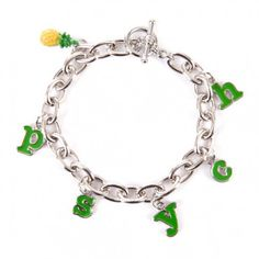 Psych Pineapple Charm Bracelet- Only because I am so obsessed with this show!!