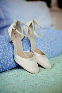 86461074553 Penny Rainbow Club Kitten heel Wedding Shoe. Like the lace and thin strap Wedding  Shoes
