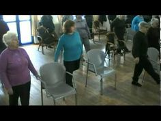 Seniors' Falls Prevention Exercise Program - YouTube