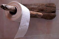 Drift wood toiletpaper holder