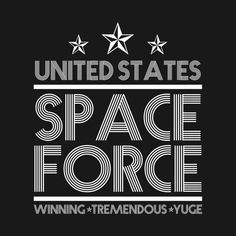 97e86d814 Shop United States Space Force T shirt Funny Yuge Huge Tee US Military  Armed Forces Space Marines Shirt united states space forces t-shirts  designed by ...