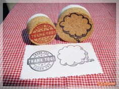 Speech Bubble Stamp  Hand Carved Rubber Stamp by KLRoom on Etsy, $7.00