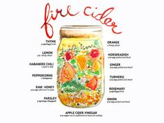 The Homestead Survival - Fire Cider Cold and Flu Recipe Homesteading -