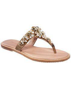 Yuri Leather Sandals