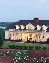 Kingston, TN - Whitestone Country Inn features 600 acres of stunning Southern beauty draped along Watts Bar Lake and surrounded by the backdrop of the Great Smoky Mountains. The New England-styled village setting offers luxurious rooms and cottages with a variety of activities such as tennis, hiking, croquet, and canoeing.