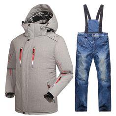 2434739f66 Waterproof Ski Jacket  amp  Pants Set   Price   144.69  amp  FREE Shipping