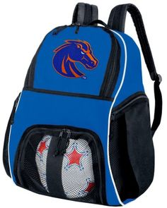 Boise State University Soccer Ball Backpack Boise State Volleyball Bag Travel Practice ** Read more  at the image link.Note:It is affiliate link to Amazon.