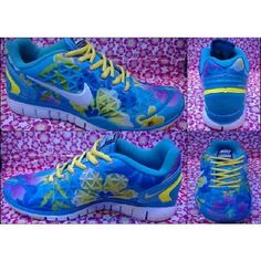 Welcome to Purchase 2017 glitter kicks Nike adidas Run Shoes Nike Free TR  Fit 2 Blue Yellow  Half Off Nike Frees - 19093b816