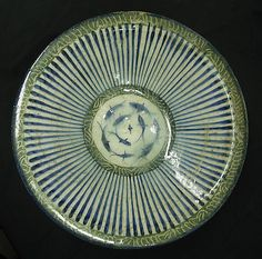 13th Century Bowl with Central Fish Motif - Iran