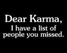 Dear Karma by signssayitall on Etsy