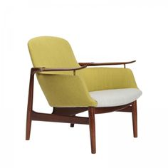 Finn Juhl NV-53 easy chair for Niels Vodder, 1953.