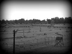Brick barracks of the BI sector - for most of the time this was the women's camp of Auschwitz II-Birkenau.