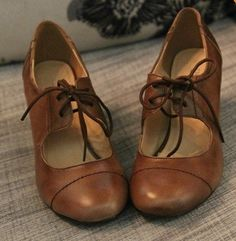 a64184c2a86 SH25 women brown real leather oxford shoes 35 36 37 38 39 40 HIGH HEEL cow