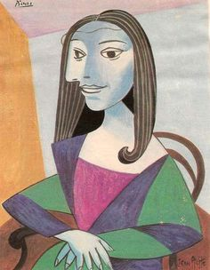 e) Joconde Picasso [Jean Ache] (Gioconda / Mona Lisa)