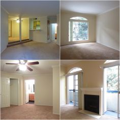 Perfect #Encino #apartment in the heart of the #SFV, with 2 parking spaces, central A/C, private balcony, and fireplace.