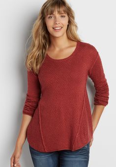 pullover swing sweater (original price, $34.00) available at #Maurices