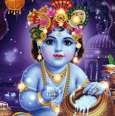 The perfect Krishna Hindi Lord Animated GIF for your conversation. Discover and Share the best GIFs on Tenor. Baby Krishna, Krishna Gif, Little Krishna, Radha Krishna Pictures, Krishna Photos, Krishna Radha, Krishna Images, Lord Krishna, Sri Krishna Janmashtami