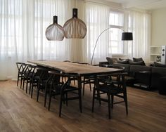 Contemporary Dining Room Rustic Dinning Room Design, Pictures, Remodel, Decor and Ideas - page 4