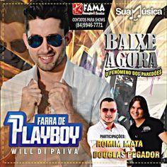 FARRA DE PLAYBOY - PROMOCIONAL DE JUNHO - 2014  http://suamusica.com.br/farradeplayboyprojunho2014