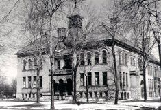 """Someone asked me the other day if I had a pic of the old stone school, and this is the pic I found. here is the description of the school written by James Cookes Mills """"The Stone School, named afte..."""