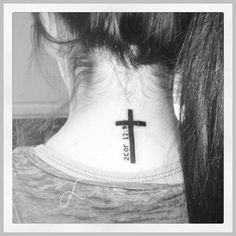 Are Christian Tattoo Designs Good Testimonial Pieces? ** Visit the image link for more details. #CrossTattoosForWomen