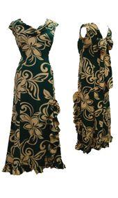 Need a new holomu'u... Hawaiian Outfits, Hawaiian Dresses, Island Wear, Island Life, Woman Dresses, Girls Dresses, Samoan Dress, Muumuu, Different Dresses