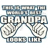 This Is What The World's Best Grandpa Looks Like by Mychristianshirts on Etsy
