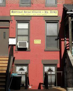 Spiritual Israel Church, East Harlem, New York City