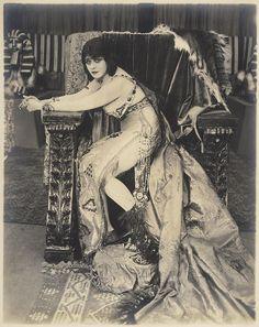Theda Bara portrait from Cleopatra by Albert Witzel Studio 1917