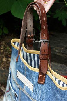 vintage Jeans bag