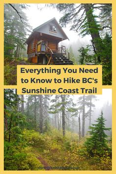 Everything you need to know before you hike for either a section or all of the Sunshine Coast Trail in British Columbia Places To Travel, Places To Go, Travel Things, Rv Travel, Sunshine Coast Bc, Colorado Trail, Road Trip, Hiking Training, West Coast Trail