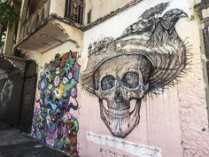 Art representing the death of old puertorrican culture #Santurceesley #Santurce #DescubrePr #PuertoRico