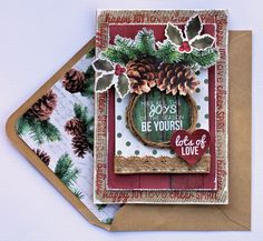 Joys of the Season Christmas Card - Kaisercraft - Scrapbook.com