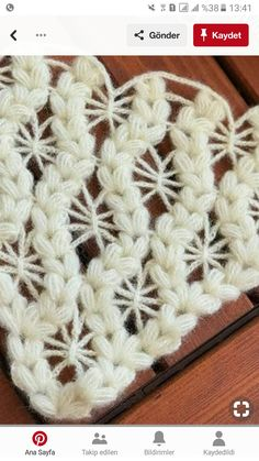 a combination of chain stitches and puff stitches?This post was discovered by AyImage only crochet starburst and puffed v stitch pattern Crochet Art, Thread Crochet, Crochet Motif, Crochet Shawl, Crochet Doilies, Crochet Stitches, Puff Stitch Crochet, Doily Patterns, Stitch Patterns