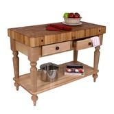 Found it at Wayfair - American Heritage Rustica Butcher Block Table