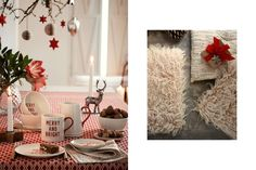 Style your home with traditional holiday decorations, table cloths, candleholders and ornaments.